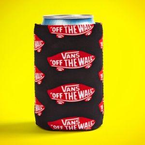Vans neoprene Koozie with the Off the Wall logo